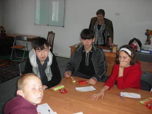 Аида Камилиевна и Вторая группа детский дом Ковчег.