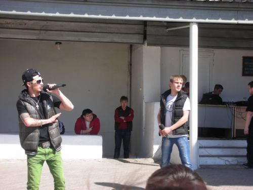 Рэп в исполнении студентов КазНУ